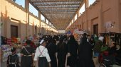 الممر الرئيسي في القرية التراثية في الكويت