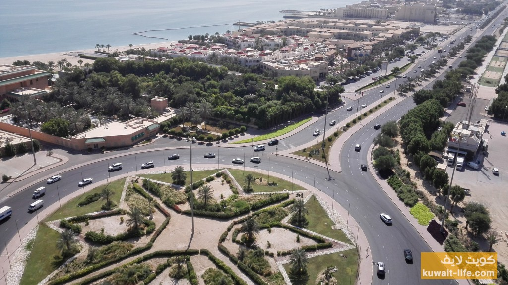 دوار البدع، السالمية، الكويت Beda' Roundabout, Salmiya, Kuwait 1