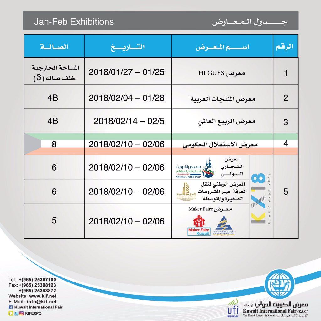 معرض المنتجات العربية في الكويت 2018